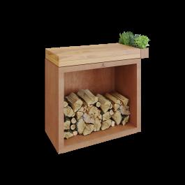 OFYR Butcher Block Storage 90 Corten Teak hout kopen