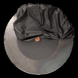 Doofdeksel + Afdekhoes Zwart XL Set