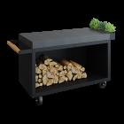 Mise en Place Table Black 135 PRO Donker Grijs Keramiek voor bij de barbecue kopen