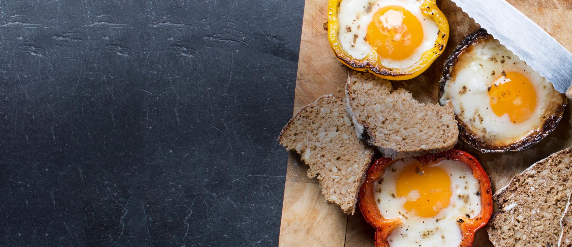 Eieren sunny-side-up